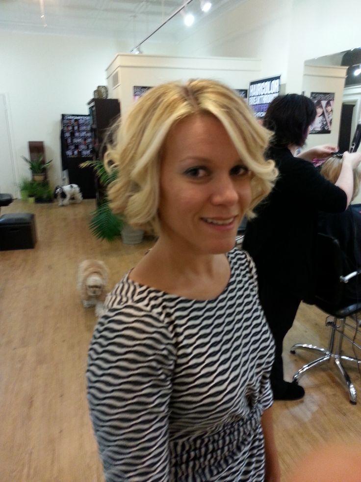 Blonde Balayage On Short Hair But Less Yellow More Ash