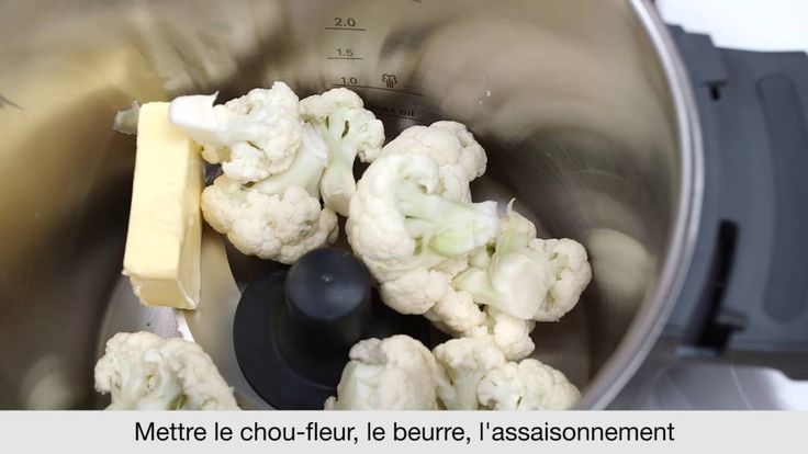 Recette de Purée de Chou-Fleur avec le robot cuiseur kCook Multi de Kenw...