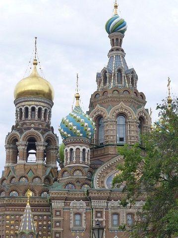 【世界遺産】ロシアの人気観光スポット「血の上の救世主教会」が美しい 画像1