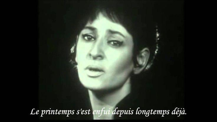 Barbara - Dis, quand reviendras-tu ? (sous-titres français)