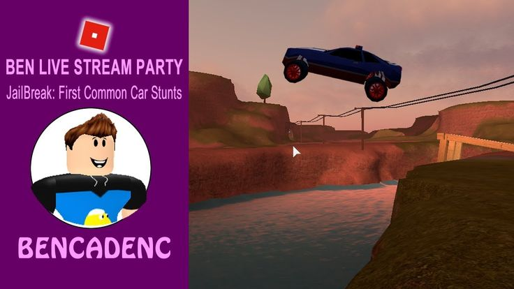 🔴 Ben Live Stream Party | Let's Play Roblox Jailbreak: First Ever Common Car Stunts  #ROBLOX #ROBLOXDEV #ROBLOXART #youtubegaming #youtube #Giveaway #Sub #gaming #videos #media #share #subscribe