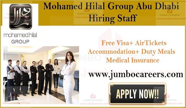 Mohamed Hilal Group Uae Is Conducting Latest Walk In Interview Hotel Jobs Dubai Hotel Medical Insurance
