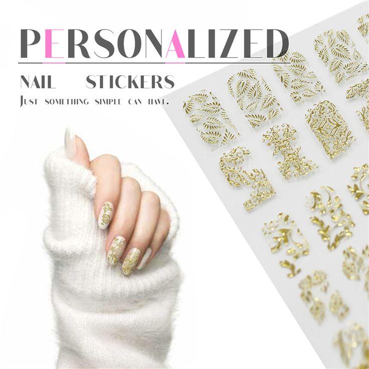 Perfect Summer наклейки для ногтей цветочные типсы украшения для маникюра дизайн ногтей стикеры   купить на AliExpress