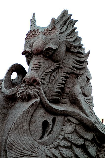 Eastern dragons are seen as spirits of air and water, and are far more peaceful than their Western cousins.: