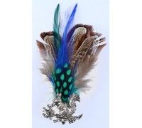 Blue and Green Feather