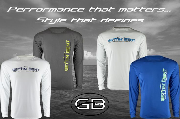Gettin 39 bent high performance fishing gear products i for High performance fishing shirts