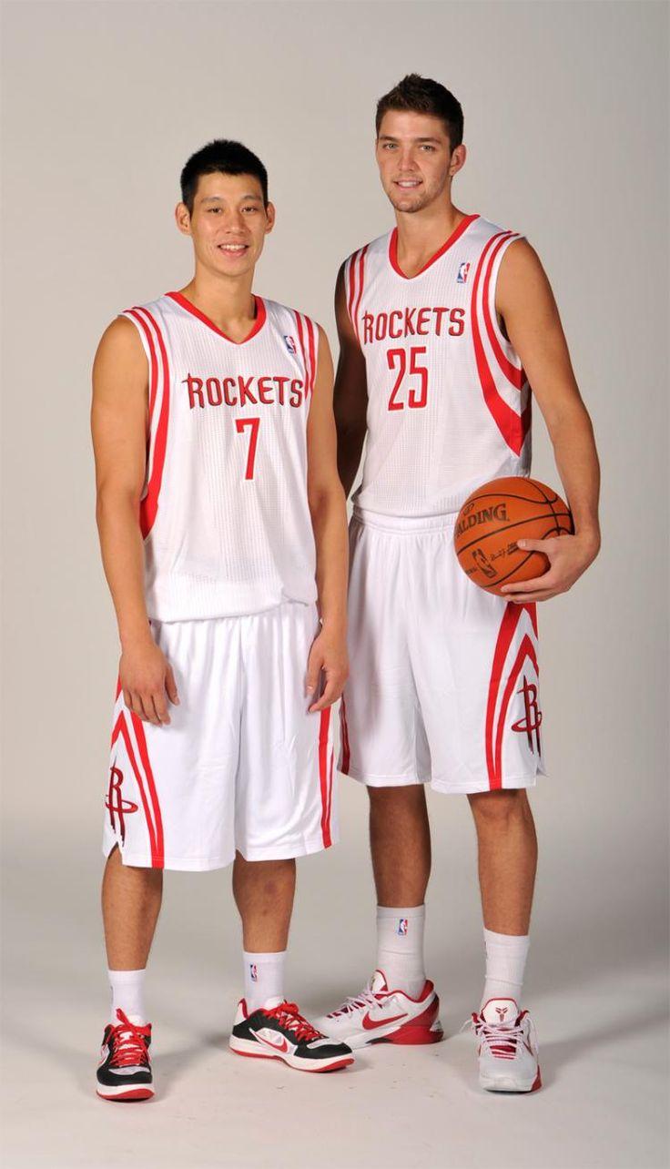 2012 Media Day - Jeremy Lin & Chandler Parsons