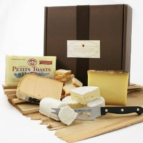 French Cheese Assortment in Gift Box (3.5 pound) by igourmet