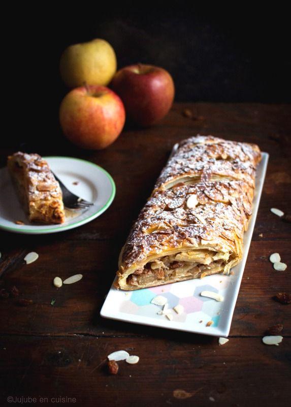 Apfelstrudel - Strudel aux pommes | Jujube en cuisine