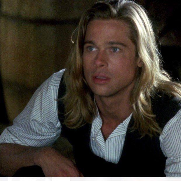 Brad Pitt On Instagram Legends Of The Fall Tristan Ludlow Bradpitt Legendsofthefall Tristanludlow Actor Movi Brad Pitt Brad Pitt Young Brad Pitt Hair