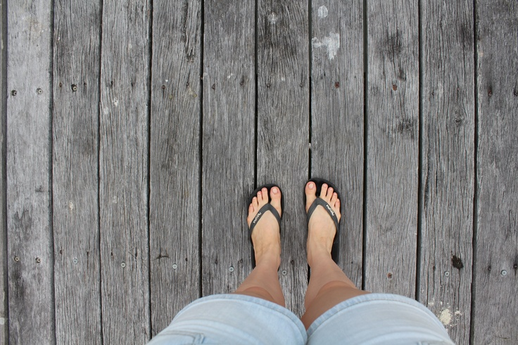 Beach feet Noosa