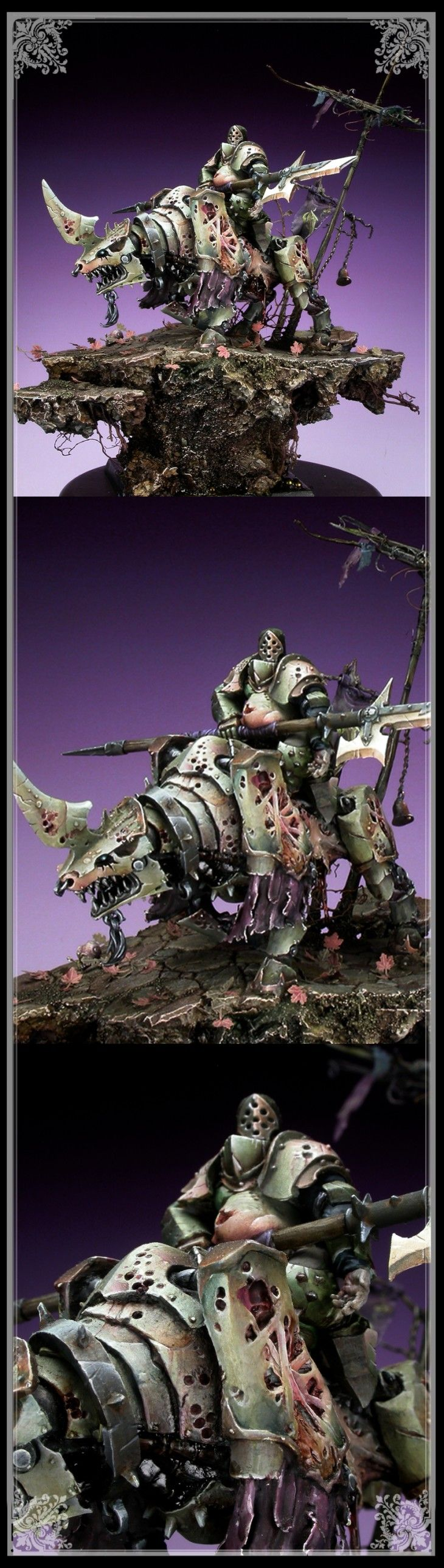 Plaguernaught GD Germany Gold, Warhammer Fantasy