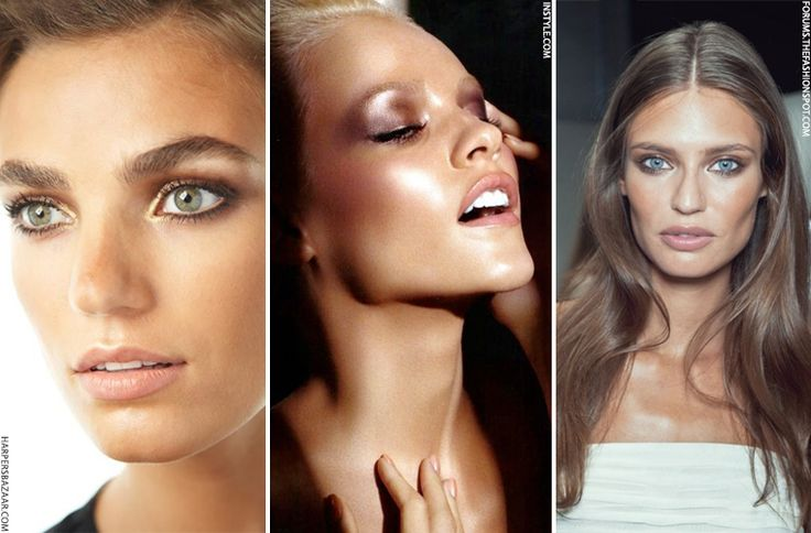 Shimmer Eyeshadows To Wear With a Tan | sheerluxe.com