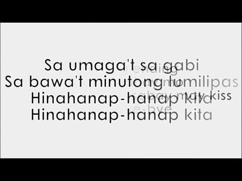 HINAHANAP-HANAP KITA - Daniel Padilla (Full Version) Lyrics