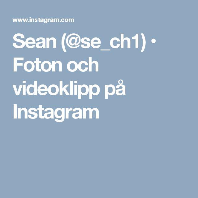 Sean (@se_ch1) • Foton och videoklipp på Instagram