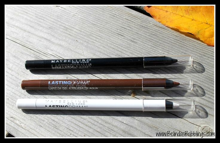 Maybelline Lasting Drama Waterproof Gel Pencils