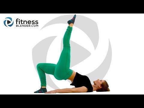 At Home Butt and Thigh Workout - Booty Sculpting Lower Body Strength Training - YouTube