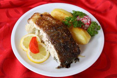 štědrovečerní sváteční večeře - kapr