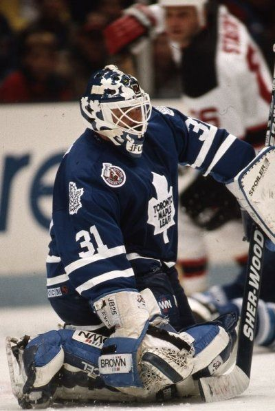 Toronto Maple Leafs - Grant Fuhr  Learn how to bet on sports and win, get the latest tricks and tips and get your free sports daily picks in 4 languages at: http://WorldBetInfo.com