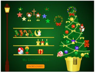 Actividades para Educación Infantil: Decoramos el arbolito de navidad JUGANDING