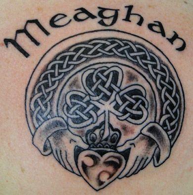 Celtic Tattoos by world renowned artist Captain Bret. Newport, Rhode Island.