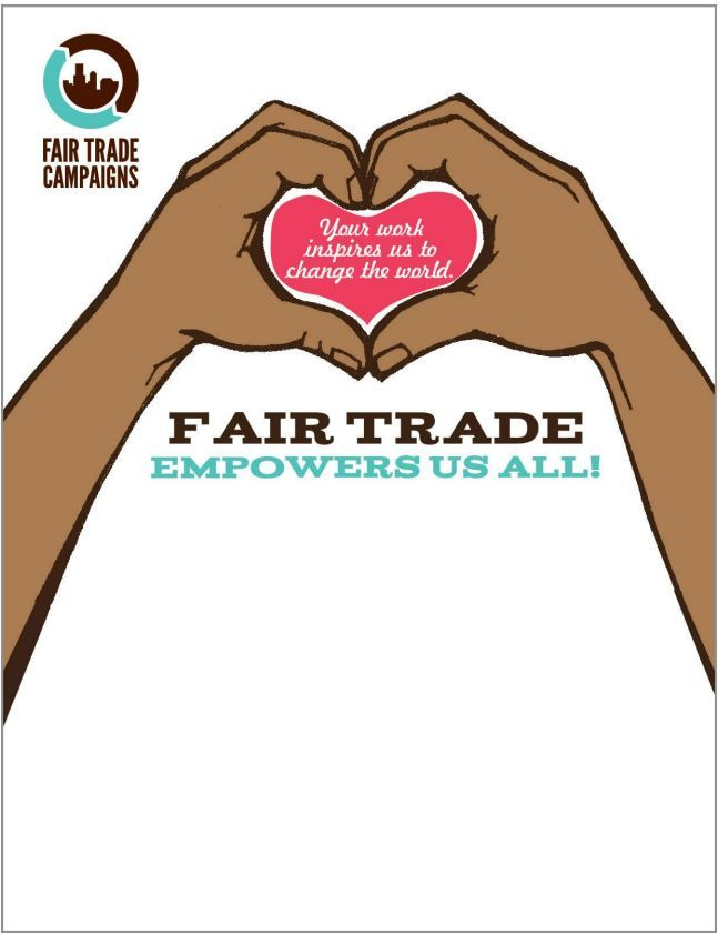 Share the #fairtrade Love this Valentine's Day