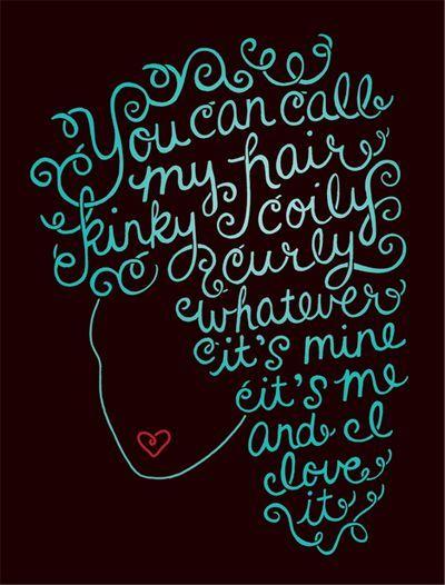 I love my curly hair!