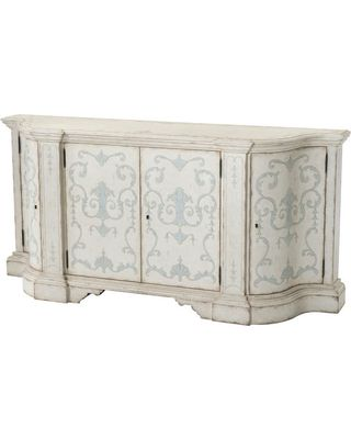 Huge Deal on Italian Painted Serpentine Buffet