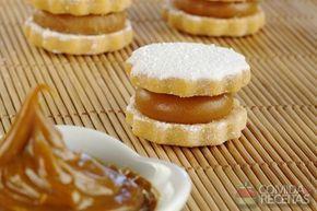 Receita de Alfajor de doce de leite em receitas de biscoitos e bolachas, veja essa e outras receitas aqui!
