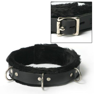 Strict Leather Fur Lined Collar by Strict Leather. $44.00