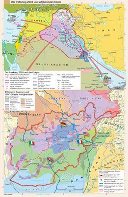 Der Irakkrieg 2003 und Afghanistan heute