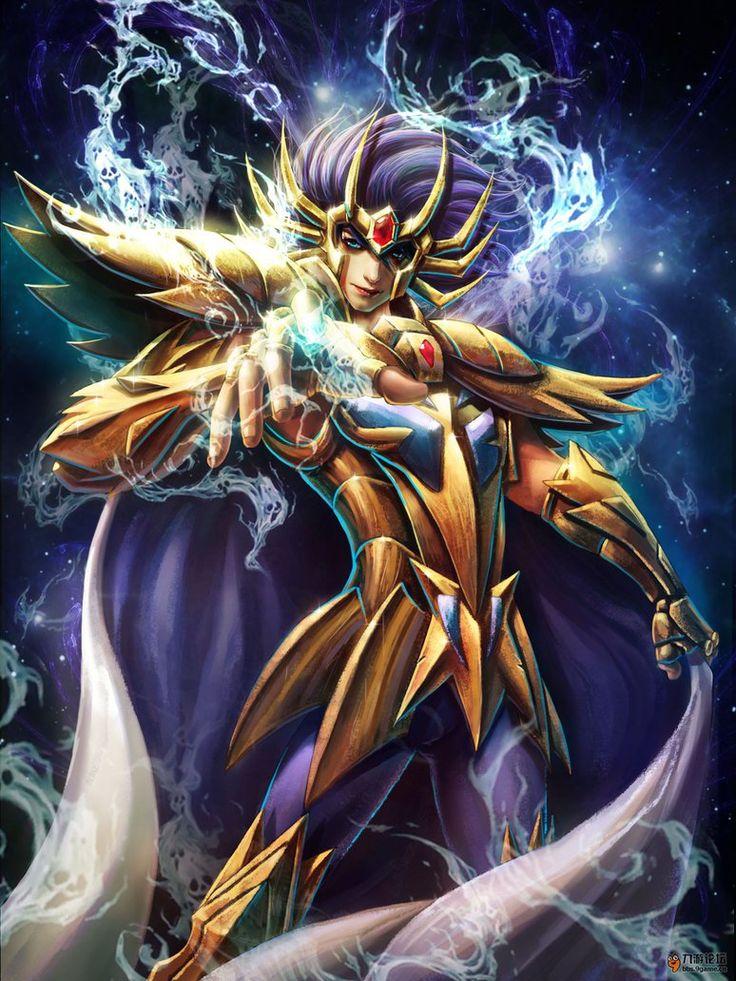 Cavaleiro de Ouro - Mascara da Morte de Cancer