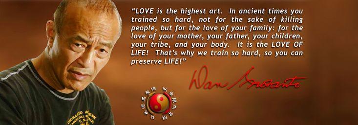 Love Life, Preserve Life  #martialarts , #lovelife , #Passion , #Training , #discipline , #Preservation , #daninosanto