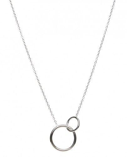 Sophie by Sophie - Two Circle Kette Silber