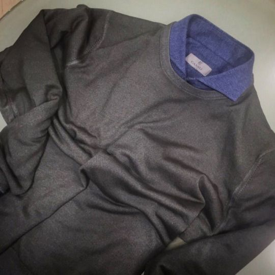 Barba Napoli knitwear: https://goo.gl/lg0bKO  Canali shirt: https://goo.gl/wBIMSr  #barbanapoli #canali