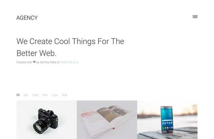 30 Free HTML Website Templates For Responsive Sites
