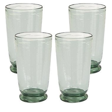Glass Effect Tumbler x 4 - from Lakeland