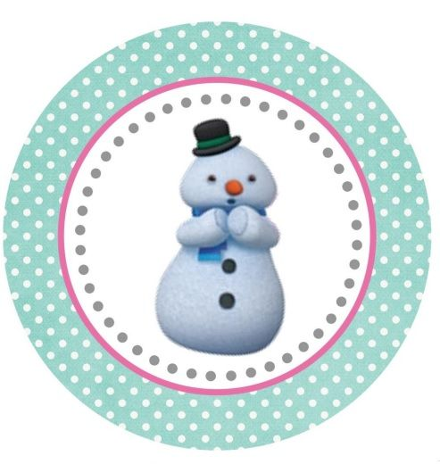 Chilly Large Tag or Cupcake Topper (free Printable)
