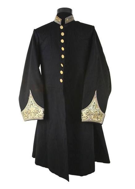 OTTOMAN HIGH RANKING STATESMAN COSTUME, 19TH C. Osmanlı Yüksek Dereceli Devlet Adamı Kıyafeti, 19. yy
