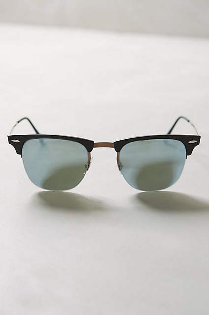 Ray-Ban LightRay Clubmaster Sunglasses - anthropologie.com