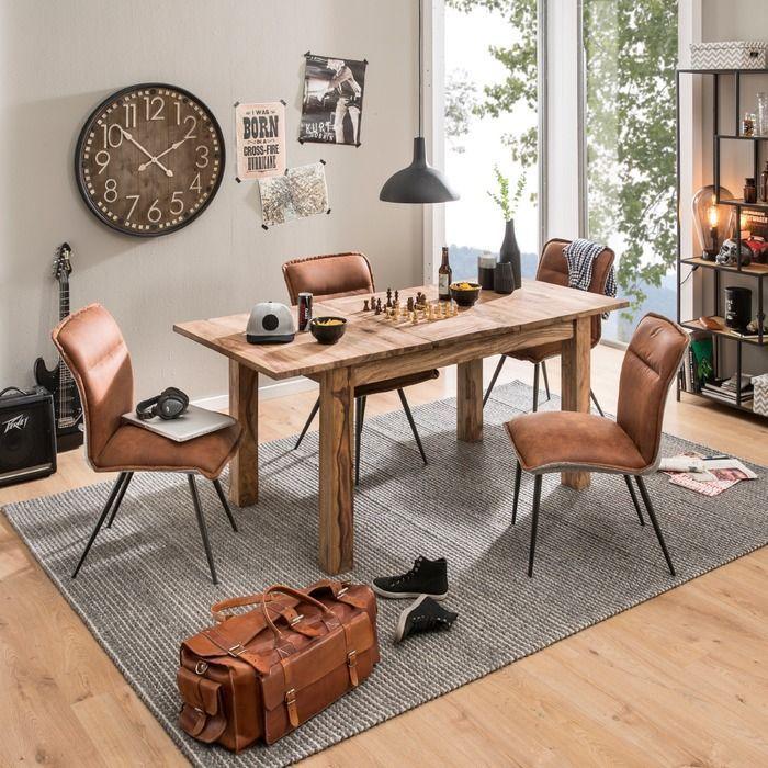 Wolf Mobel Esstisch Yoga 135 X 80 Cm Sheesham Holz In 2020 Home Decor Furniture Decor