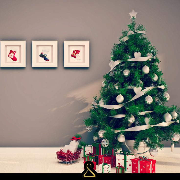 Albero, Natale, Regali, Christmas, Tree, Gifts