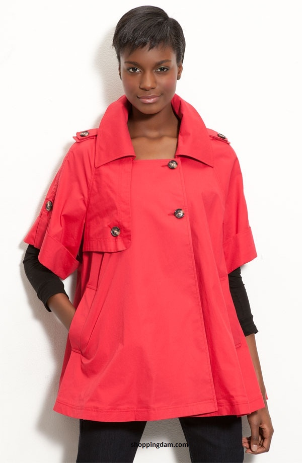Bright Hues Trina Turk Swing Coat