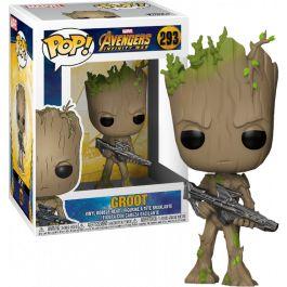 Avengers 3: Infinity War - Groot with Gun Pop! Vinyl Figure