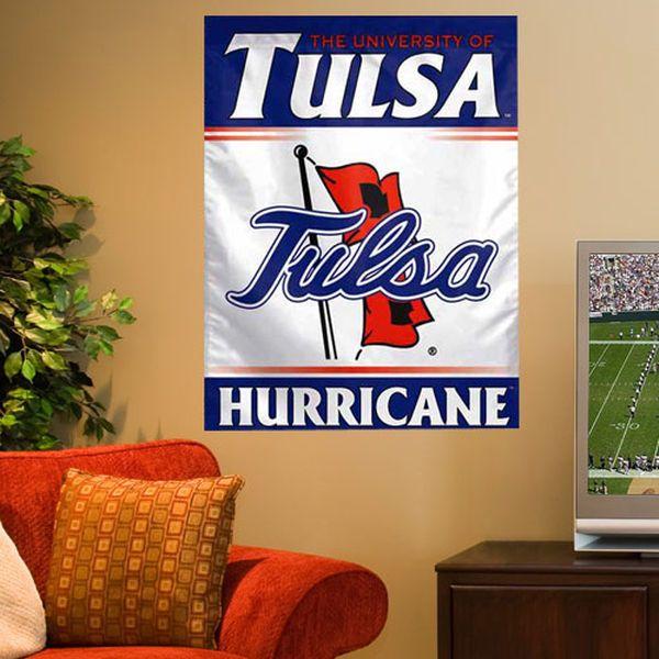 Tulsa Golden Hurricane 27'' x 37'' Vertical Banner Flag - $24.99
