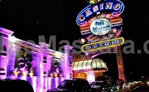 Matum Hotel  Casino Santiago This hotel is located near the city centre of Santiago and features free Wi-Fi and an on-site casino. Matum Hotel  Casino offers dry cleaning services and free parking.