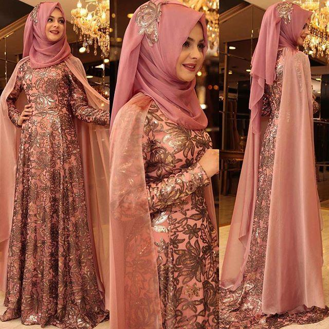 Ve Tuğba Abiyemizin Gülkurusu rengi. Bu renkler benim rengim ☺️ #pınarşems #tuğbaabiye #hijabfashion #hijabi #hijab #tesettürelbise #tesettürabiye
