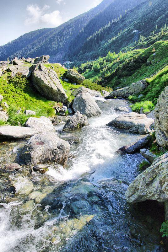 Waterfall, Romania