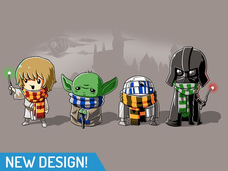This is awesome, except C3PO would've been the Hufflepuff - R2 is a Gryffindor!