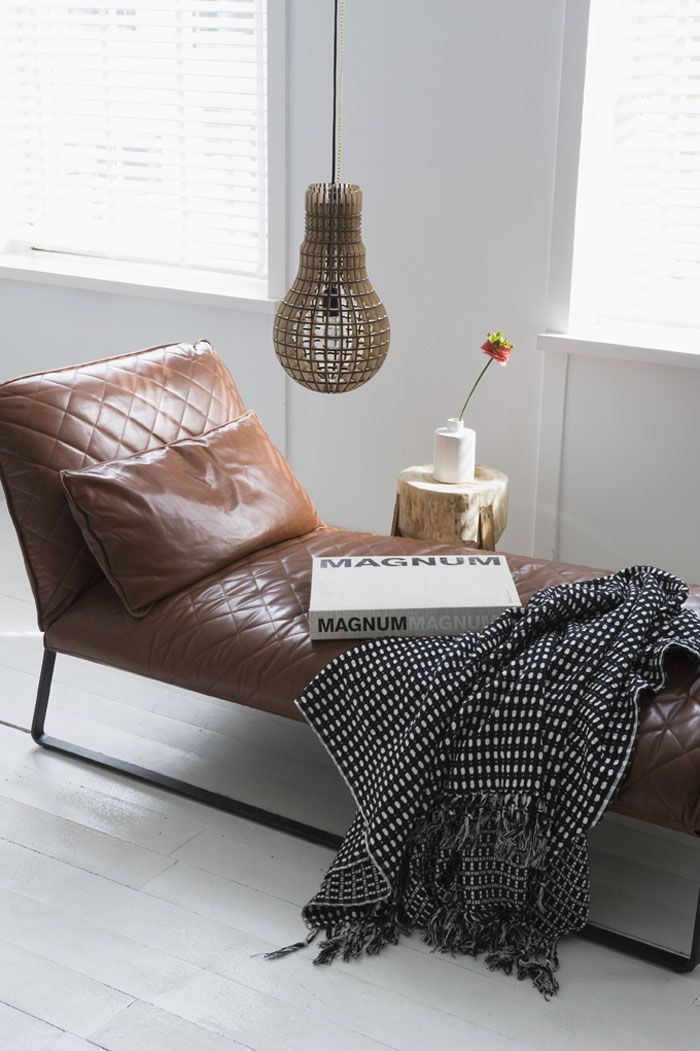 lovely reading spot. i actually have this blanket, so I guess I just need to buy the lounge chair to go with it :)